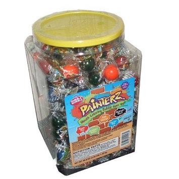 Dubble Bubble Painterz Mouth Coloring Bubble Gum 240 Individually Wrapped Pieces