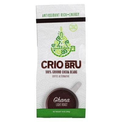 Crio Bru 100% Ground Cocoa Beans, Ghana Light Roast, 10 oz