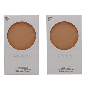 Revlon Nearly Naked Pressed Powder, 020 Light (Pack of 2) + FREE Curad Dazzle Bandages, 25 Ct.