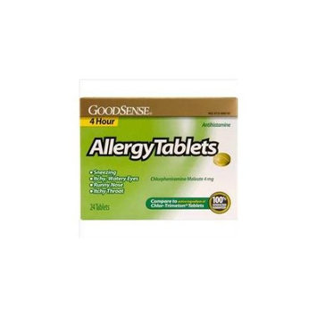 Good Sense 4 Hour Allergy Tablets 24 Count