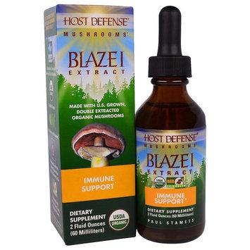 Fungi Perfecti, Host Defense Mushrooms, Organic Blazei Extract, Immune Support, 2 fl oz (60 ml)