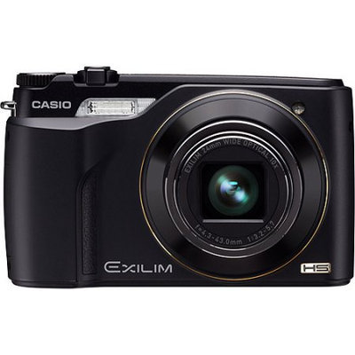 Casio Exilim EX-FH100 10 Megapixel Digital Camera with 10x Ultra Wide-Zoom Lens, HD Movie, 1000fps, 3 LCD, Black