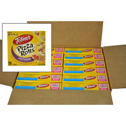 Totino's, Pizza Rolls Snacks, Pepperoni, 7.5 oz., (12 count)