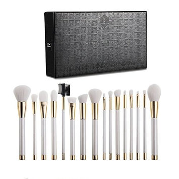 Makeup Brush Set 16 pcs Face Makeup Brushes Premium Synthetic Kabuki Foundation Blending Powder Brush Tool