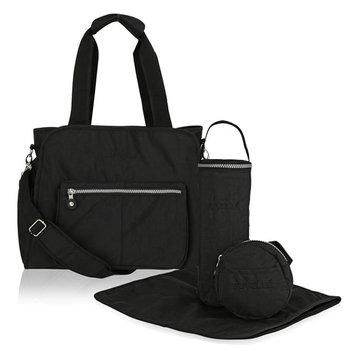 Suvelle RFID, Travel Purse, Tote, Handbags, Baby Diaper Bags, Stroller Organizer, 4-Pcs Set