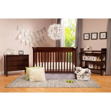 Baby Mod Ava Crib and 3 Drawer Dresser Set with BONUS Changing Table Espresso