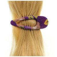 Annie Loto Sudios Jewelry Purple Side Clip Hair Accessory Style, 1.25 in. - 377A