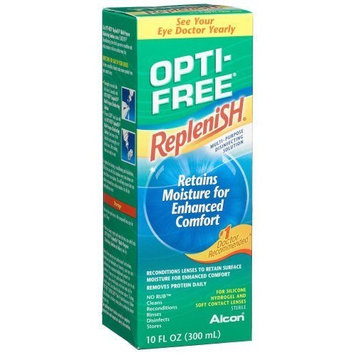 Opti-Free Replenish Multip-purpose Disinfecting Solution, 10-Ounce Bottles (Pack of 2) Personal Healthcare / Health Care