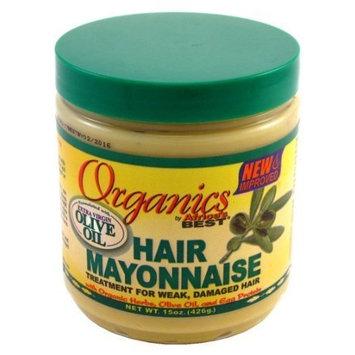 Africa's Best Organics Hair Mayonnaise 443 ml Jar (Treatment) by Africa's Best
