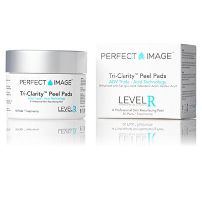 TRI-Clarity Peel Pads 10% (Daily-Use) - Enhanced with Salicylic Acid   Mandelic Acid   Tea Tree Oil   Green Tea Extract