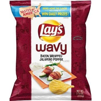 Lays Wavy Bacon Wrapped Jalapeno Popper - 2.75oz