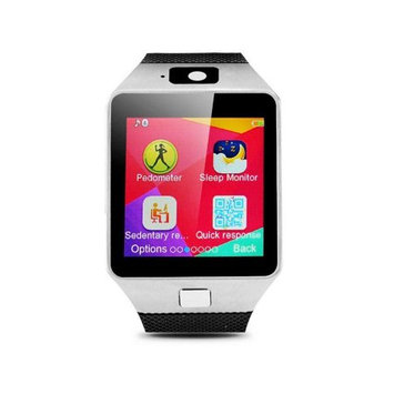 Agptek Bluetooth Smart Watch Wrist Watch w/ Camera Support Video for Samsung Phone for Android