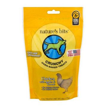 Nature's Bits Dog Treats 6oz-Chicken Crunchy