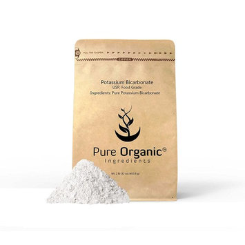 Potassium Bicarbonate, 2 lb (32 oz) Natural, Highest Purity, Food Grade, Eco-Friendly Packaging (Also available in 4 oz &1 lb)