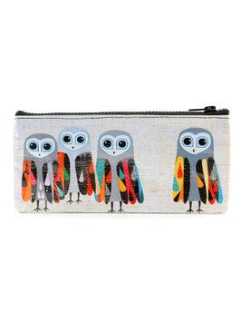 Blue Q Pencil Cases hoo's next, 4 1/4 in. h x 8 3/4 in. w [pack of 3]
