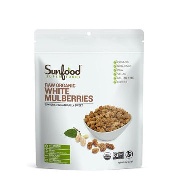 Sunfood Superfoods Raw Organic Mulberries
