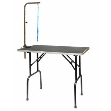 Go Pet Club GT-101 30 in. Pet Dog Grooming Table with Arm