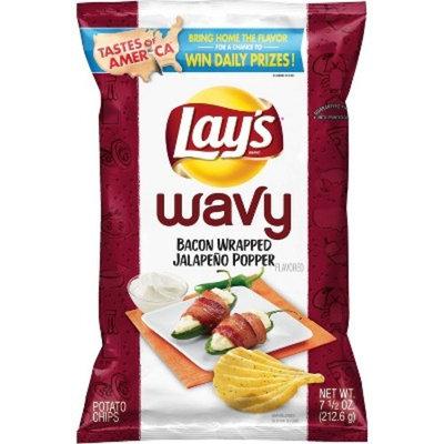Lays Wavy Bacon Wrapped Jalapeno Popper - 7.5oz