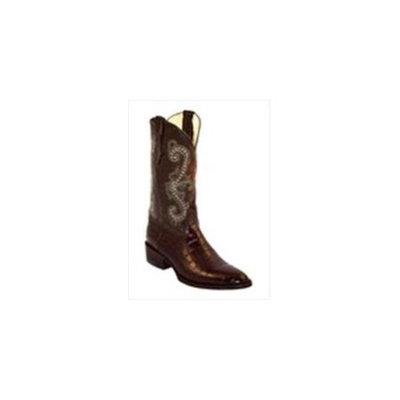 Ferrini Western Boots Mens Teju Lizard Exotic Chocolate 11111-09