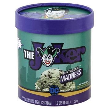 THE JOKER Mint Cookie Madness Mint Light Ice Cream 1.5 qt. Tub