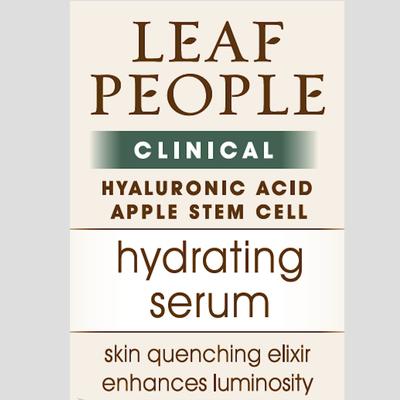 Leaf People Hyaluronic Acid & Apple Stem Cell Hydrating Serum0.5 oz.