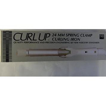 Helene Curtis Curl Up 24 MM Spring Clamp Curling Iron