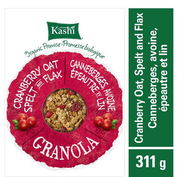 Kashi Organic Promise Cranberry Oat Spelt & Flax Khorasan Wheat Granola