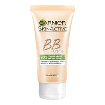 Garnier Bb Cream 90% Naturally-Derived Ingredients 5-In-1 Daily Perfecting Moisturizer With Green Tea Extract Light Shade 5 X 2 X 4