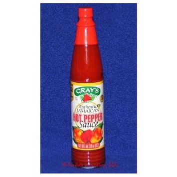 Gray's Authentic Jamaican Hot Pepper Sauce (pack of 3)