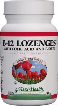 Maxi Health B12 Lozenges With Folic Acid And Biotin - 90 Chew