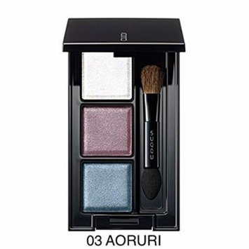 Suqqu Eye Color Palette No. 03 Aoruri The Newest Limited Edition Autumn Winter 2014 Collection