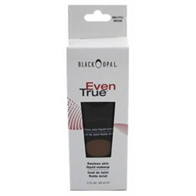 Black Opal Even True Flawless Skin Liquid Foundation, Beautiful Bronze 1 oz (2 pack)