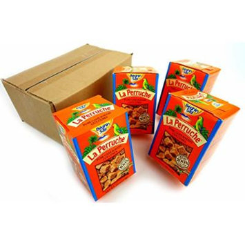 La Perruche Rough Cut Brown Sugar Cubes 8.8oz Boxes, Pack of 4