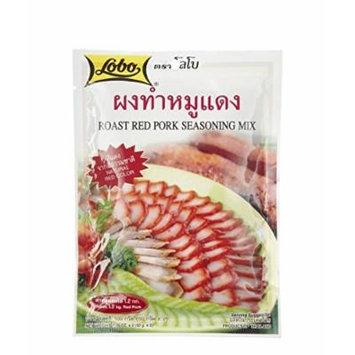 Lobo ,Roast Red Pork Seasoning Mix Paste - 3.52 Ounces (Pack of 6)