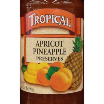 Tropical Apricot Pineapple Preserves 32 Ounce, Pack of 1