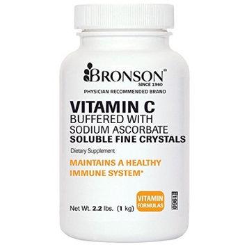 Bronson Vitamins Vitamin C Crystals Reduced Acidity