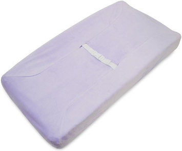 American Baby Company Heavenly Soft Contoured Pad Changing Table Cover - Lavender - 2 Pack