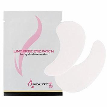 Beauty7 Korean Eye Pad Lint Free Eye Patch for Eyelash Extension 5 / 10 / 25 / 50 / 100 Pairs (50 Pairs)