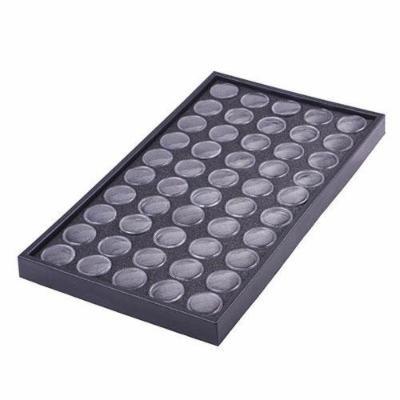 50Pcs Empty Clear Box Cases Glitter Dust Powder Jewelry Display Nail Art