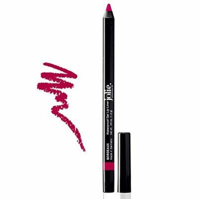 Jolie Cosmetics Waterproof Gel Lip Liner - Super Smooth, Extra Long-Wear (Bordeaux)