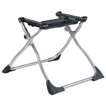 Peg Perego Navetta XL Bassinet Stand, Black and Silver (Discontinued by Manufacturer)