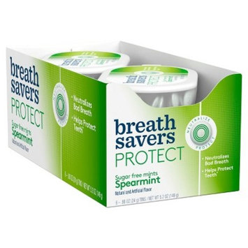 Breathsavers Spearmint Sugar Free Mint Candies - 5.2oz
