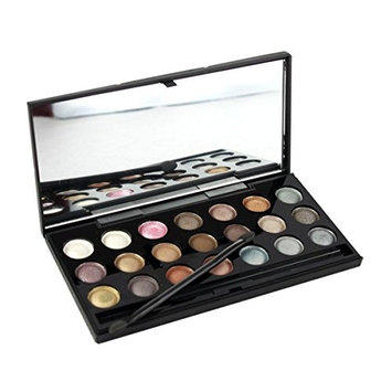Pure Vie Professional 21 Colors EyeShadow Palette Makeup Contouring Kit - Ideal for Professional as well as Personal Use