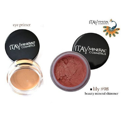ITAY Beauty Mineral Eye Primer + 100% Natural Eye Shadow Color #98