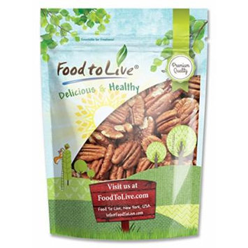 Food To Live ® Pecans (Raw, No Shell) (1 Pound)
