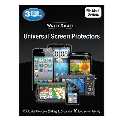 WriteRight Universal Screen Protectors, 3pk