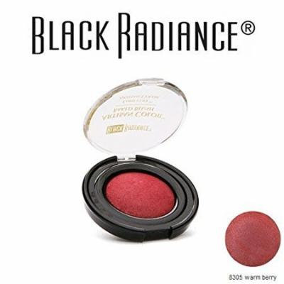 2-Pack Black Radiance Artisan Baked Blush 8305 Warm Berry