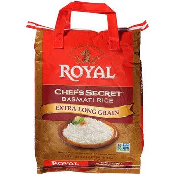 Royal Chef's Secret Basmati Rice Extra Long Grain, 10.0 LB