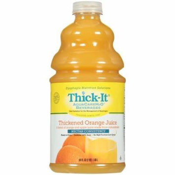 Thick-It AquaCareH2O Orange Juice, 64 oz. Bottle, 4/Case (Nectar)