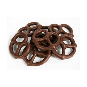 Gourmet Chocolate Covered Pretzels by Its Delish (Dark Chocolate, 5 lbs)